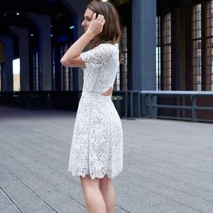 Reiss Dresses - Reiss White Lace Dress
